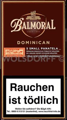 Balmoral Dominican Selection Small Panatela