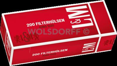 L&M Red Label Hülsen 5 x 200er