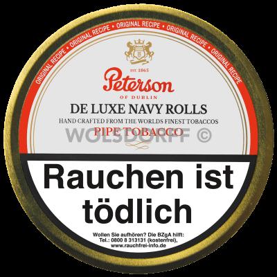 Peterson De Luxe Navy Rolls