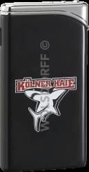 Feuerzeug Tempo schwarz matt Kölner Haie