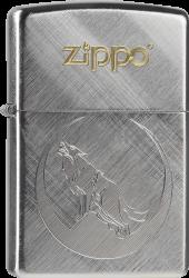 Zippo 60000225 #28182 Wolf Diagonal Wave