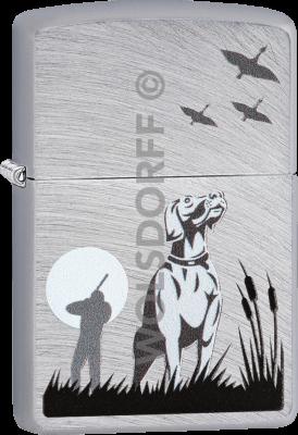Zippo 60004090 #24647 Hunting Geese Dog