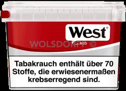 West Red Volume Tobacco Box 155 g