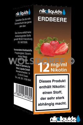 Nikoliquids Erdbeere