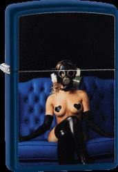 Zippo 60004187 #239 Gas Mask Girl Design