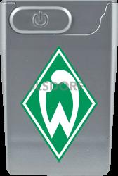 USB Card Lighter silberfarben Werder Bremen