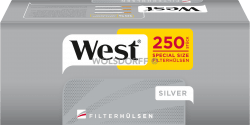 West Silver Special Hülsen 4 x 250er