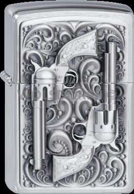 Zippo 2001654 #200 Revolver Emblem