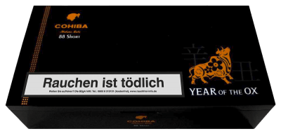 Cohiba Short 88 Year of the Ox 2021 Limited Edition