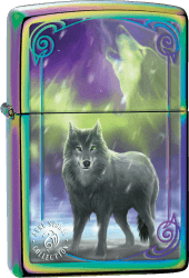 Zippo 60003254 #29348 Anne Stokes Wolf