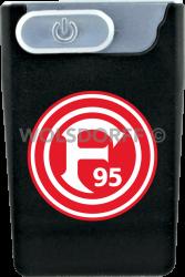USB Card Lighter schwarz Fortuna Düsseldorf Vereinslogo