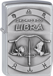 Zippo 2002078 #200 Libra Emblem