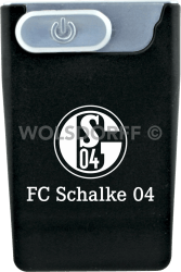 USB Card Lighter schwarz FC Schalke 04
