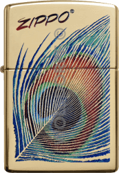 Zippo 60003822 #254B Peacock Feather