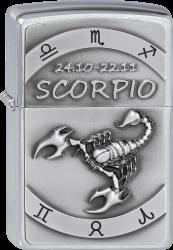 Zippo 2002079 #200 Scorpio Emblem