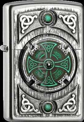 Zippo 2005167 205 Celtic Green Cross Emblem