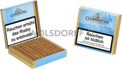 Clubmaster Blue Gold Mini Filter 20er