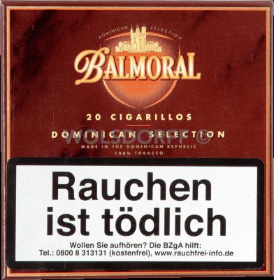 Balmoral Dominican Selection Cigarillos 20er