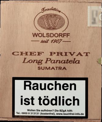 Chef Privat Long Panatela Sumatra 20er