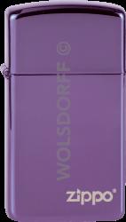 Zippo 60001263 28124 Abyss Slim® / Logo
