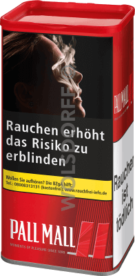 Pall Mall Red XXL Dose 105 g