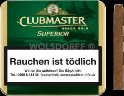 Clubmaster Superior Brazil Gold 20er