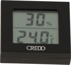 Credo Digitales Hygro-/Thermometer