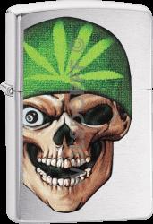 Zippo 60004235 #200 Skull Beanie Design