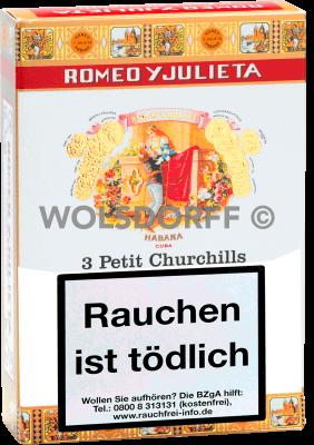 Romeo y Julieta Petit Churchills Alu Tube