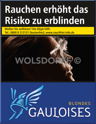 Gauloises Blondes Blau (6 X 31)