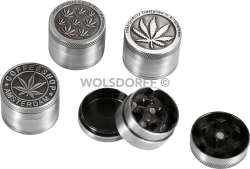 Grinder Metall Mini Cannabis 3-teilig Ø30mm