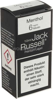 Jack Russell Liquid No 13 Menthol