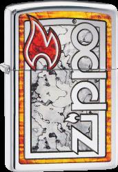 Zippo 60002976 #200 Zippo® Logo in Fusion
