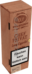 Chef Privat Long Cigarillo Sumatra 25er