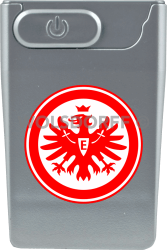 USB Card Lighter silberfarben Eintracht Frankfurt