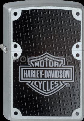 Zippo 60001201 #205 Harley-Davidson® Carbon Fibre