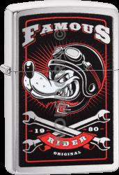 Zippo 60004108 #200 Famous Wolf Rider