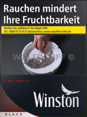 Winston Black Big Pack XXL (8 x 27)