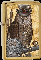 Zippo 60003058 #204B Steampunk Owl