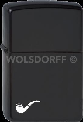 Zippo 60001269 #218 Black Pipe Lighter