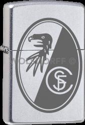 Zippo Chrom satin SC Freiburg