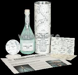 Lind & Lime Gin Geschenkset mit Halstuch