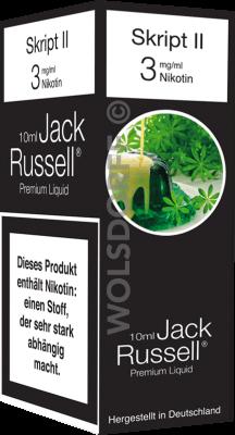 Jack Russell Liquid No 7 Script II