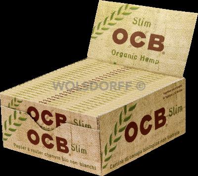 OCB Organic Hemp Slim 50 x 32er