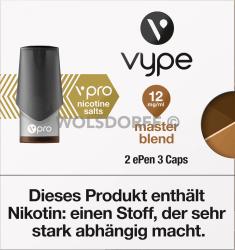 Vype ePEN 3 vPRO CAPS Master Blend 2er