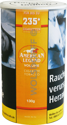 American Legend Volumentabak 130 g