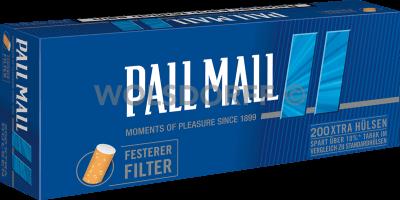Pall Mall Smooth Xtra Hülsen 200er