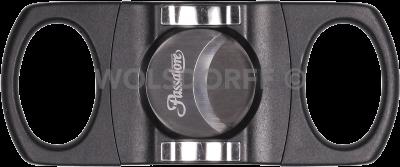 Passatore Cutter Kunststoff schwarz/chrom mit Ablage 27mm