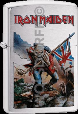 Zippo 60003140 #200 Iron Maiden Flag