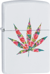 Zippo 60004288 #214 Floral Weed Design